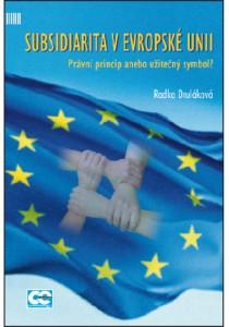 Druláková_Subdidiaritav evropské