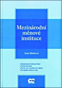 Marková_Mezinárodní instituce