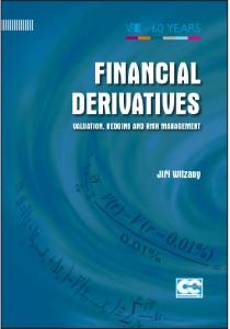 Witzany_Financial Derivatives