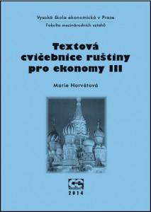 Horvátová_Textová cvičeb rus III