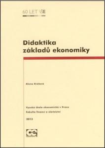 Králová_Didaktika zákl ekon_2013