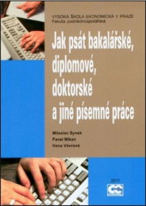 Synek_Jak psát diplom_2011